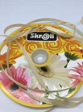 Лента атласная Skroll,6 мм,цвет№ 71 (светло-бежевый)