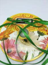 Лента атласная Skroll,6 мм,цвет№ 76 (зелёный)