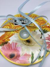 Лента атласная Skroll,6 мм,цвет№ 78 (светло-голубой)