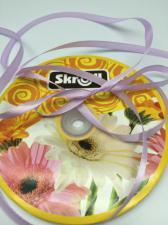 Лента атласная Skroll,6 мм,цвет№ 85 (сиреневый)