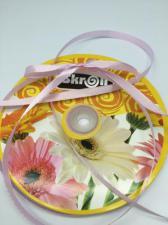 Лента атласная Skroll,6 мм,цвет№ 149 (розово-сиреневый)