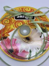 Лента атласная Skroll,6 мм,цвет№ 159 (серо-зелёный)