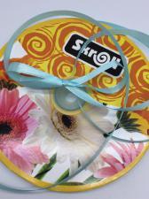 Лента атласная Skroll,6 мм,цвет№ 199 (бирюзовый)