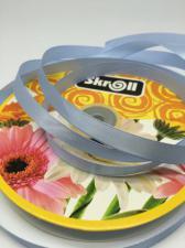 Лента атласная Skroll,,12 мм,цвет№ 20 (голубой)