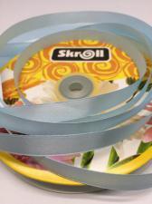 Лента атласная Skroll,12 мм,цвет№ 78 (светло-голубой)