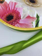 Лента атласная Skroll,25 мм,цвет№ 95 (жёлто-зелёный)