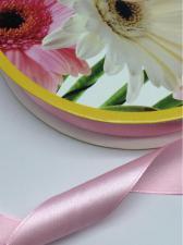 Лента атласная Skroll,25 мм,цвет№ 154 (светло-розовый)