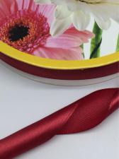 Лента атласная Skroll,25 мм,цвет№ 156 (тёмно-красный)