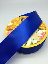Лента атласная Skroll,50 мм,цвет№ 40 (василёк)