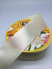 Лента атласная Skroll,50 мм,цвет№ 64 (бледно-жёлтый)
