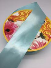 Лента атласная Skroll,50 мм,цвет№ 199 (бирюзовый)