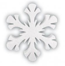 """Снежинка """"Северное сияние""""."""