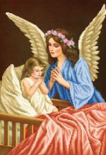 Ангел хранитель. Размер - 27 х 39 см.