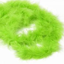 Боа (пух). Цвет-салатовый