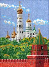 Московский Кремль. Размер - 26 х 35 см.