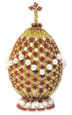 Риолис | Яйцо пасхальное-2. Размер - 5 х 6,5 см