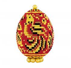 "Риолис | Яйцо пасхальное ""Хохлома"". Размер - 5 х 6,5 см"