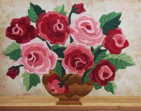 Маричка | Ароматные розы. Размер - 21 х 17 см.