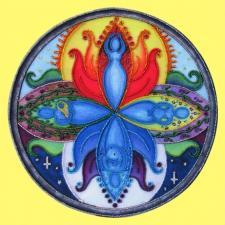 Butterfly | Богиня Мандала. Размер - 26 х 26 см.