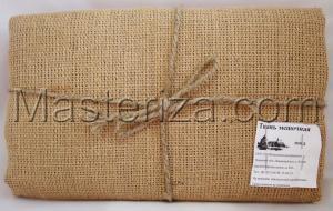 Ткань мешочная (мешковина). Размер - 106 х 100 см.