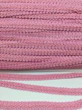 Тесьма Шанель,10 мм,цвет 134 (розовый)