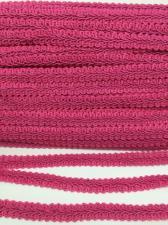 Тесьма Шанель,10 мм,цвет 337 (фуксия)