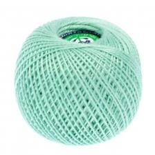"""Нитки для вязания  """"Ирис"""". Цвет 4102 мятный"""