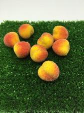 Персик в сахаре декоративный,25 мм,1 шт.