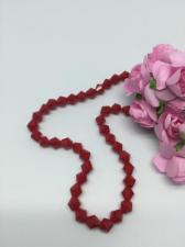 Бусины Bicone на нитке,6 мм,цвет 58