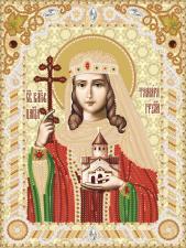Святая Благоверная царица Тамара Грузинская. Размер - 18 х 24 см.