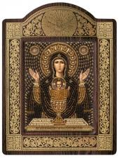 """Киот Образ Пресвятой Богородицы Неупиваемая чаша""""."""