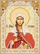Святая мученица Татиана (Татьяна). Размер - 18 х 24 см.