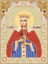 Святая мученица Людмила. Размер - 18 х 24 см.