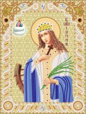 Святая великомученица Екатерина. Размер - 18 х 24 см.