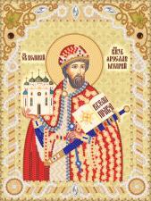 Святой Благоверный князь Ярослав Мудрый. Размер - 18 х 24 см.