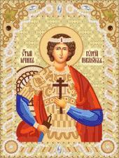 Святой великомученик Георгий Победоносец (Юрий). Размер - 18 х 24 см.