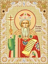 Святой Равноапостольный князь Владимир. Размер - 18 х 24 см.