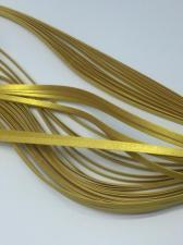 Бумага для кручения (металлик бронза). Размер 3 мм