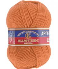 Пряжа Аргентинская шерсть. Цвет 035 (оранжевый)