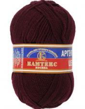 Пряжа Аргентинская шерсть. Цвет 047 (бордо)