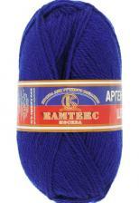 Пряжа Аргентинская шерсть. Цвет 019 (василёк)