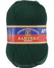 Пряжа Аргентинская шерсть. Цвет 110 (зелёный)