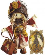"""Набор для шитья текстильной каркасной куклы """"Миледи""""."""