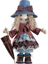 """Набор для шитья текстильной каркасной куклы """"Мэри""""."""