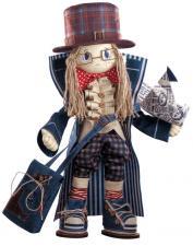 """Набор для шитья текстильной каркасной куклы """"Гек""""."""