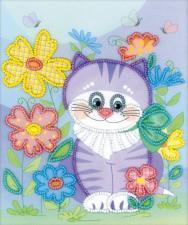 """Набор для вышивания бисером """"Котик"""""""