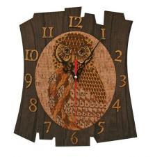 """Набор для создания часов с вышитой основой """"Время мудрости"""""""