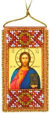 """Набор-оберег для вышивки бисером на натуральном художественном холсте """"Молитва Господня. Отче наш"""""""