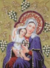 Изящное рукоделие | Богородица Покрывающая. Размер - 23 х 29,5 см