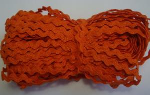 Декоративная тесьма Вьюнчик. Цвет 77 (оранжевый)